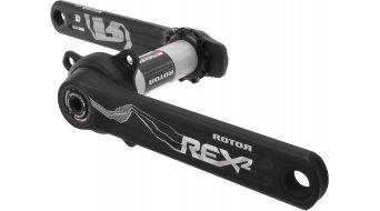 ROTOR REX 2.1 INpower XC1 MTB 1-velocidades Leistungsmess-biela 170mm 30mm-eje (76mm) negro(-a)/color plata