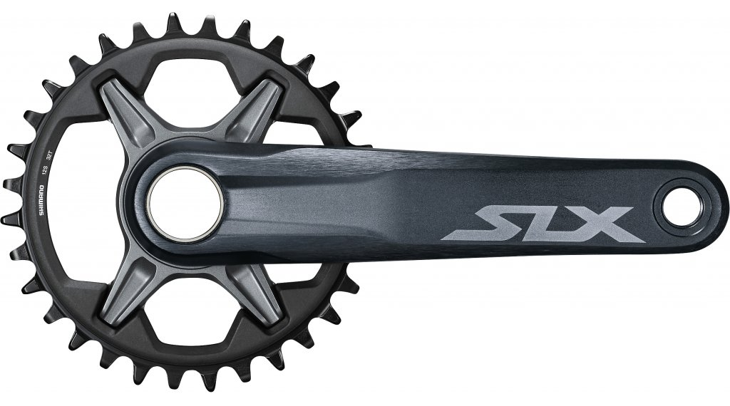Shimano SLX FC-M7100-1 crank 165mm 12 speed (without bottom bracket/without chain ring ) black/grey