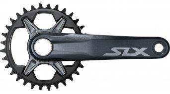 Shimano SLX FC-M7120-1 Kurbel 12-fach (ohne Innenlager/ohne Kettenblatt) schwarz/grau
