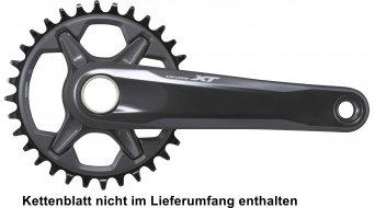 Shimano XT FC-M8100-1 XC MTB crankset 1x12-traps (-speed) kettinglijnen : 52mm zwart (zonder kettingblad & trapaslager(s) )