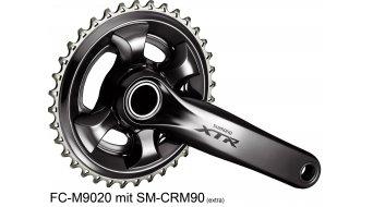 Shimano XTR FC-M9020 Enduro/Trail 1x11-fach Kurbelsatz (ohne Kettenblatt & Innenlager)