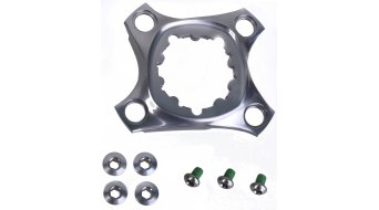 SRAM XX1 曲柄星/Spider 适用于 曲柄 76mm (4-孔) 含有牙盘螺丝