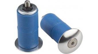 Problem Solvers Bar End Plugs Lenkerendstopfen silver