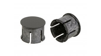 Schmolke MTB Carbon Lenkerendstopfen schwarz 21mm