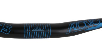 Azonic World Force FAT 35 manillar 35.0x750mm 18mm-rise negro/azul Mod. 2016