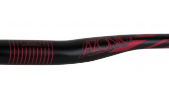 Azonic World Force FAT 35 manillar 35.0x750mm 18mm-rise negro/rojo Mod. 2016