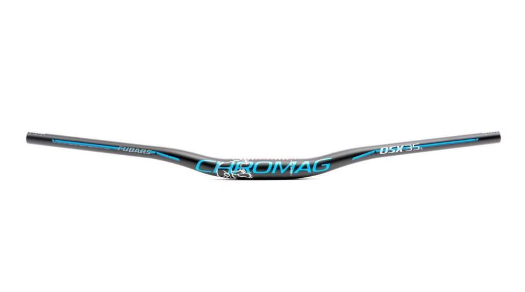 Chromag Fubars OSX 35 Lenker 35.0x800mm 25mm Rise black/blue