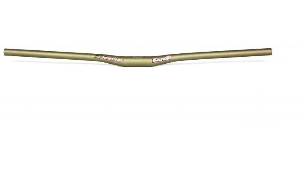 Renthal V2 Fatbar Riser Lenker 31.8x800mm 10mm-Rise gold