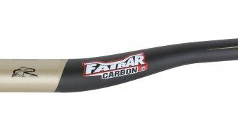 Renthal Fatbar Carbon 35mm Riser Lenker 35.0x800mm 20mm-Rise carbon/gold