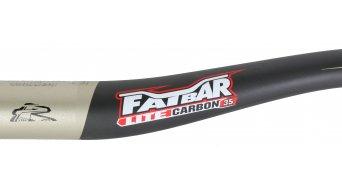 Renthal Fatbar Lite Carbon 35mm Riser Lenker 35.0x760mm 20mm-Rise carbon/gold