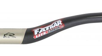 Renthal Fatbar Lite Carbon 35mm Riser Lenker 35.0x760mm 40mm-Rise carbon/gold