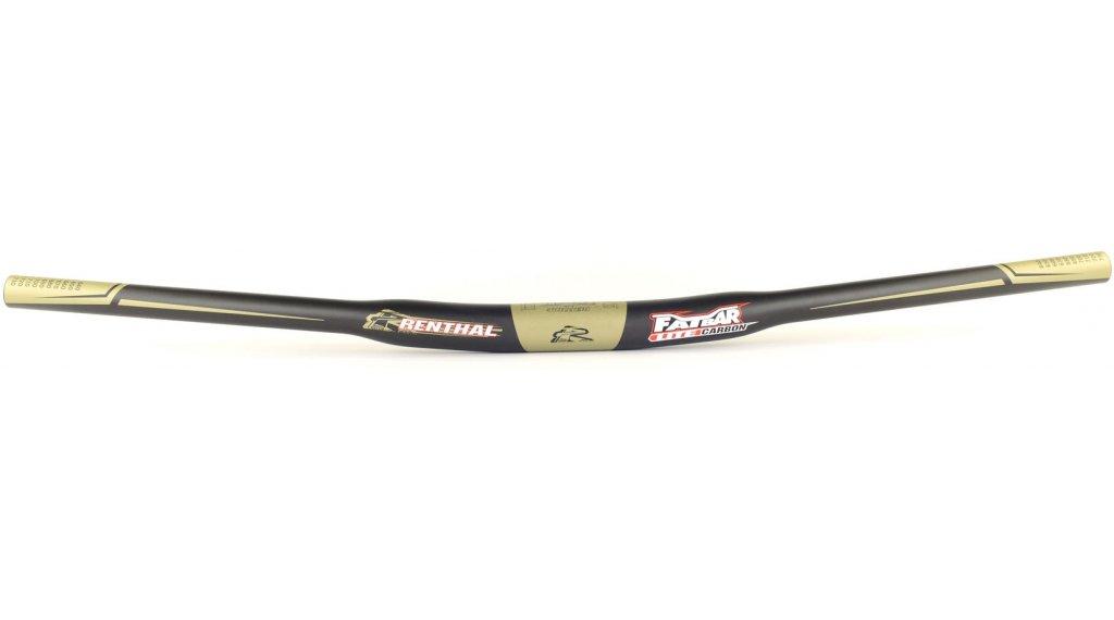 Renthal Fatbar Lite Carbon Riser Lenker 31.8x740mm 10mm-Rise carbon/gold