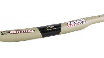 Renthal Fatbar Lite Carbon Riser Lenker 31.8x740mm 10mm-Rise gold - Limited Edition