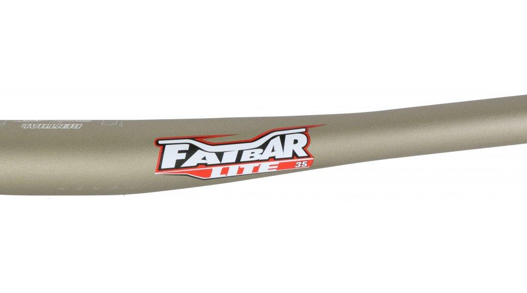 35.0 x 760 mm Renthal MTB-Lenker Fatbar Lite Riser Gold