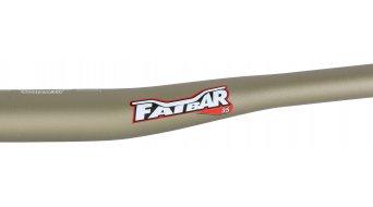 Renthal Fatbar 35mm Riser Lenker 35.0x800mm 10mm-Rise gold