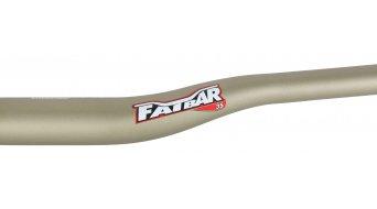 Renthal Fatbar 35mm Riser Lenker 35.0x800mm 20mm-Rise gold