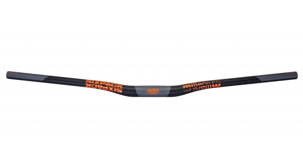 Sixpack Millenium Carbon MTB-Lenker 31.8x805mm 20mm Rise black/orange
