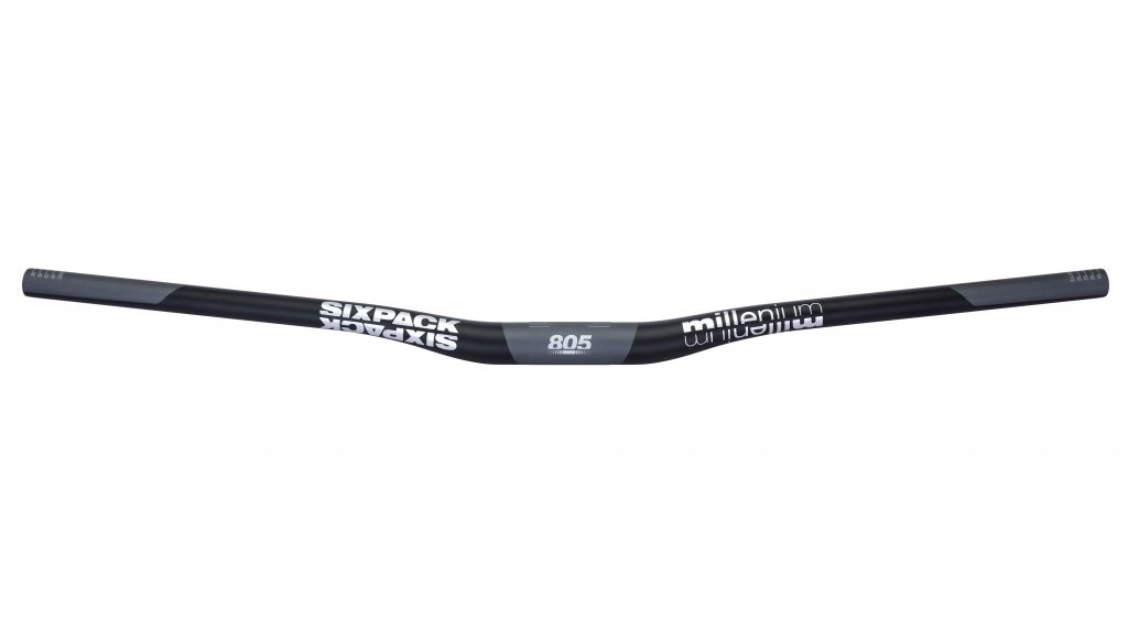 Sixpack Millenium Carbon MTB-Lenker 31.8x805mm 20mm Rise black/chrome