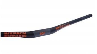 Sixpack Millenium Carbon MTB-Lenker 35.0x805mm 20mm Rise black/orange