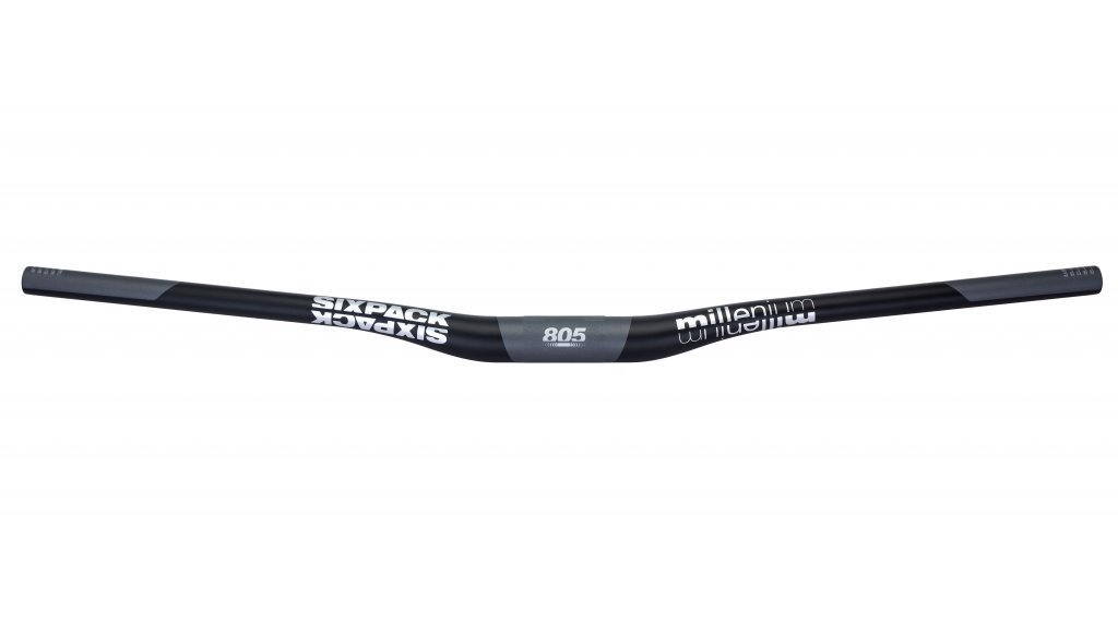 Sixpack Millenium Carbon MTB-Lenker 35.0x805mm 20mm Rise black/chrome