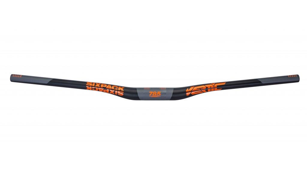 Sixpack Vertic Carbon MTB-Lenker 35.0x785mm 20mm Rise black/orange