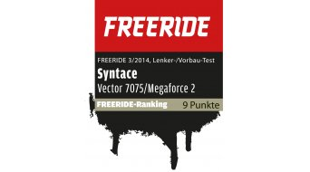 Syntace Vector 7075 High10 MTB-Lenker 31.8x780mm 12° black