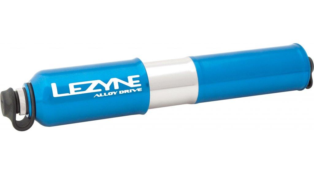 Lezyne CNC Alloy Drive Medium Handpumpe Luftpumpe Fahrradpumpe blau