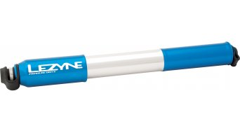 Lezyne CNC Pressure Drive Medium hand pump air pump bike pump blue