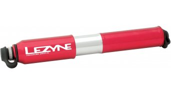 Lezyne CNC Pressure Drive Medium hand pump air pump bike pump red