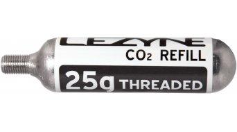 Lezyne Gewinde CO2 Kartusche silber