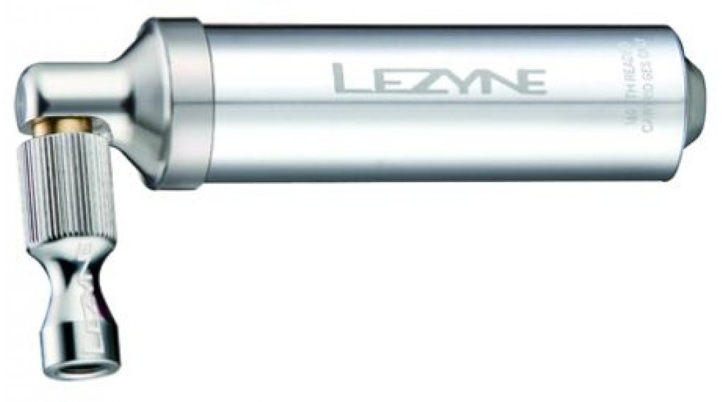 Lezyne Alloy Drive CO2-Pumpe Handpumpe silber