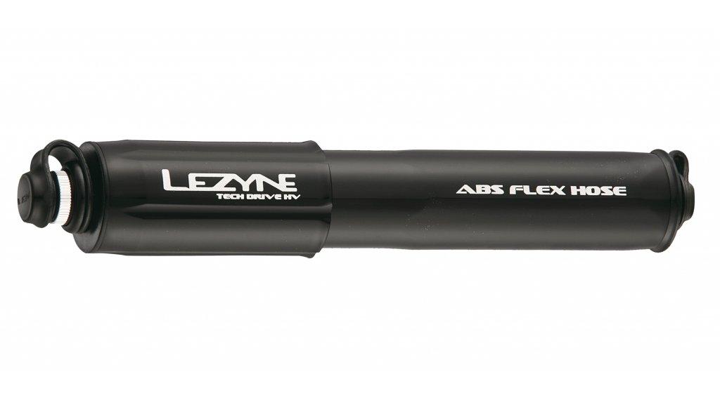 Lezyne Tech Drive HV Medium Handpumpe Luftpumpe Fahrradpumpe schwarz