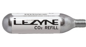 Lezyne gr. rosca CO2 cartucho color plata