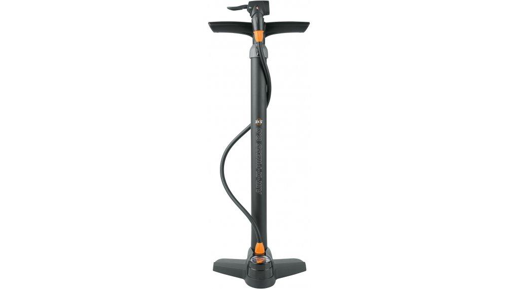 SKS Air-X-Press 8.0 Fahrradpumpe Standpumpe (Multi-Valve-Ventilanschluss)