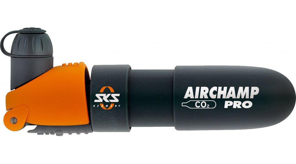 SKS Airchamp Pro CO2-Minipumpe inkl. CO2 Kartusche, 135mm, 115gr