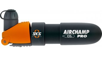 SKS Airchamp Pro CO2-bomba de miniatura incl. CO2 cartucho, 135mm, 115gr