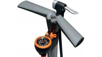 SKS Airworx 10.0 Fahrradpumpe 立式气筒 银色 (Multi-Valve-气门芯接口)