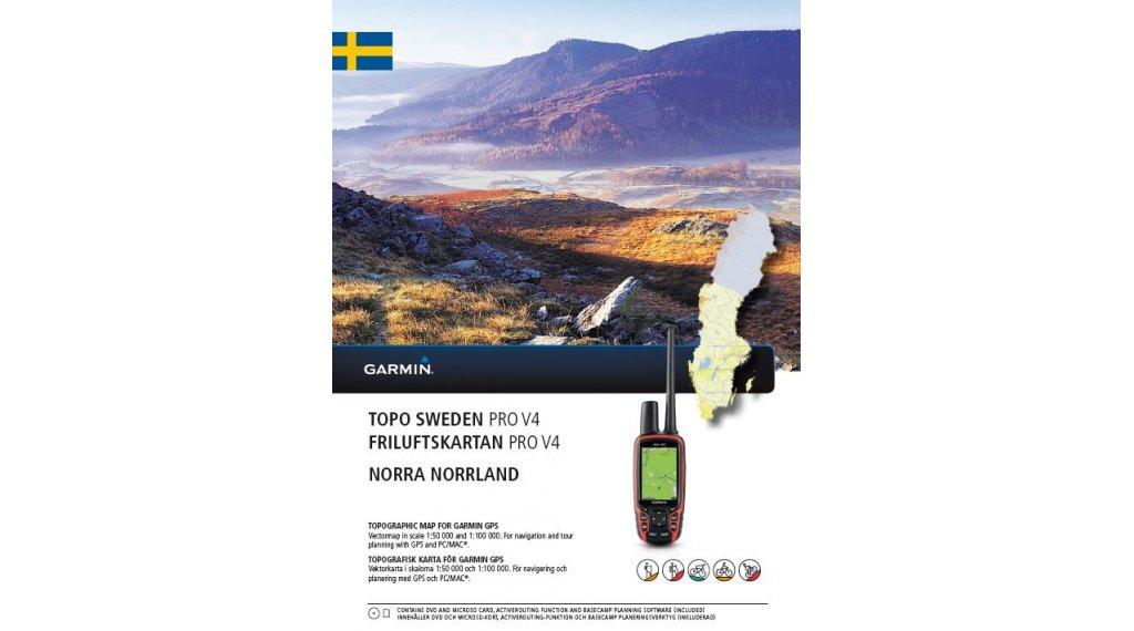 Garmin Topo Sweden V PRO Norra Norrland DVDmicroSDSD Map - Sweden map garmin