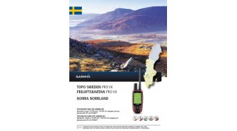 Garmin TOPO Schweden V4 PRO Norra Norrland (DVD+microSD/SD-mapa)