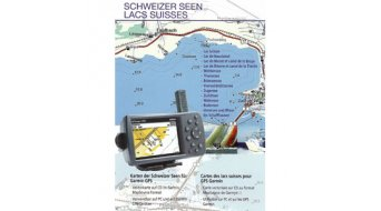 Garmin CD Topo Switzerland Schweizer Seen