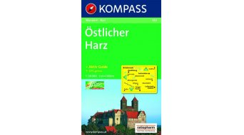 Kompass turistická mapa Östlicher Harz (včetně Aktiv-Guide)- 1:50.000