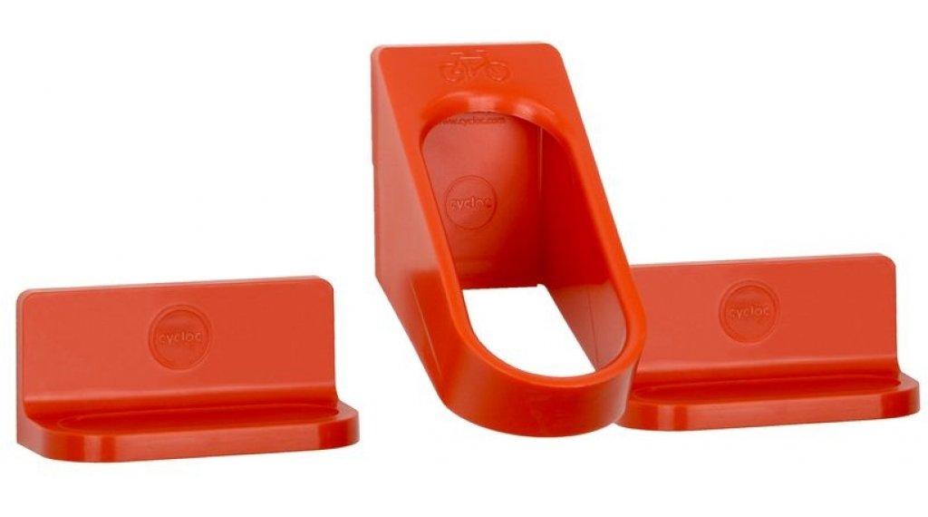 Cycloc Hero bike holder orange