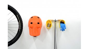 Cycloc Loop Ablage para montaje en pared naranja