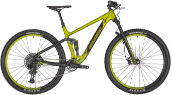 "Bergamont Contrail 5 29"" MTB bike lime green metallic/black (matt) 2020"