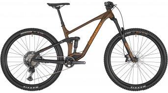 "Bergamont Trailster 8 29"" MTB bike tobacco brown/black/orange (matt) 2020"