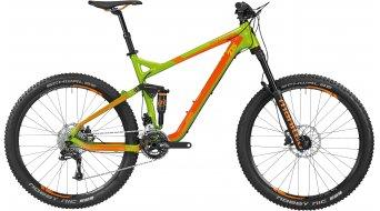 Bergamont Trailster 7.0 27.5 MTB bici completa Caballeros-rueda tamaño S apple verde/naranja Mod. 2016