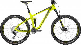 Bergamont Trailster 10.0 Carbon 650B/27.5 MTB bici completa . neon yellow/black (opaco) mod. 2017