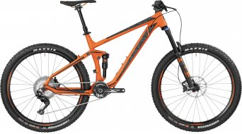 Bergamont Trailster 8.0 650B/27.5 VTT vélo taille orange/black (matt) Mod. 2017