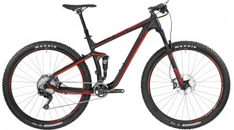 Bergamont Contrail 10.0 carbon 29 MTB bike red/black (matt) 2017