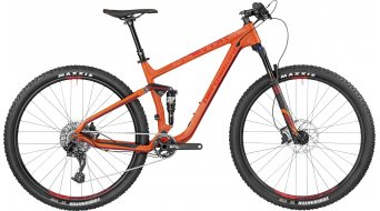 Bergamont Contrail 8.0 carbon 29 MTB bike orange/red (mat) model 2017